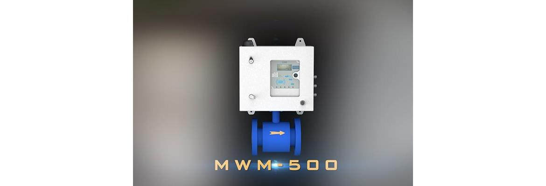 Installing Electromagnetic Smart Water Meter  MWM-500